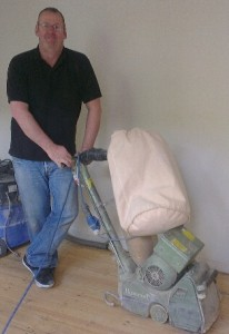 Floor Sanding In Evesham